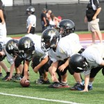 Quarterback, Briz Trapp and the DeKalb County offensive line