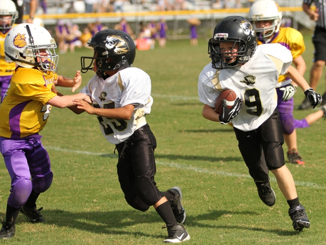 Conner Close came up with a big interception for the Tigers in their victory last Saturday.