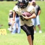 Kobie Snipes in action during the Tigers' game at Cookeville Saturday.