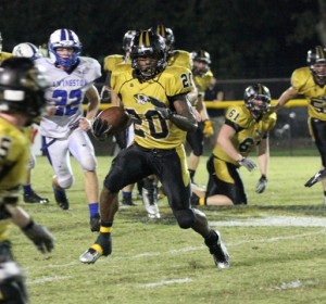 Devonte Milan was DeKalb's player of the game in the Tigers' win over Livingston Friday night.