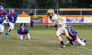 Tackled for a loss