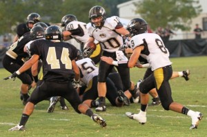Luke Boss had 68 yards for the Tigers in their victory over Stone Memorial.