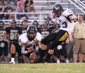 Freshman kicker, Matthew Poss, is developing into a real weapon for the Tigers.