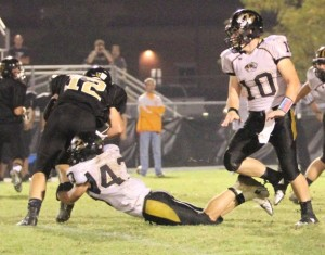 Rickey Spare had a great night for the Tigers in their win over Stone Memorial.