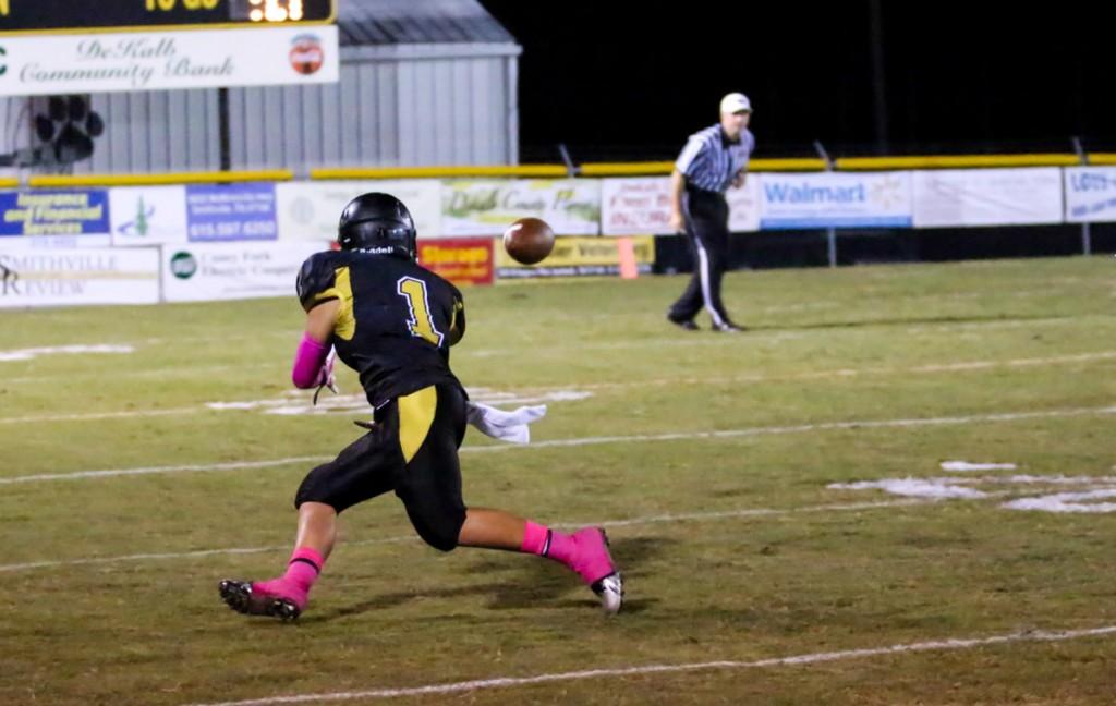 Jonathon Munoz catching one of many.