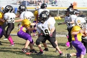 Mason Winter had a big 20 yard rumble Saturday.