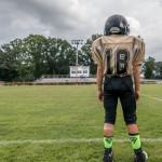 Owen Snipes stands ready to play in Saturday's Jamboree.