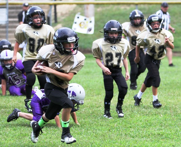 Owen Snipes scored a touchdown for the Tigers Saturday.
