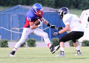 Tyler Bundy ran for 109 yards and a touchdown Tuesday night.