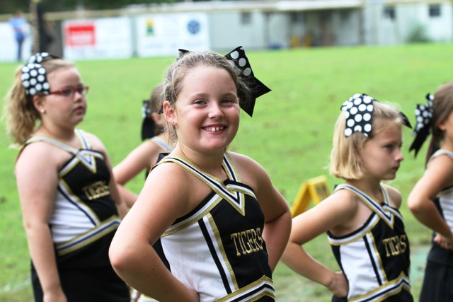 Junior Cheerleader, Ally Fuller