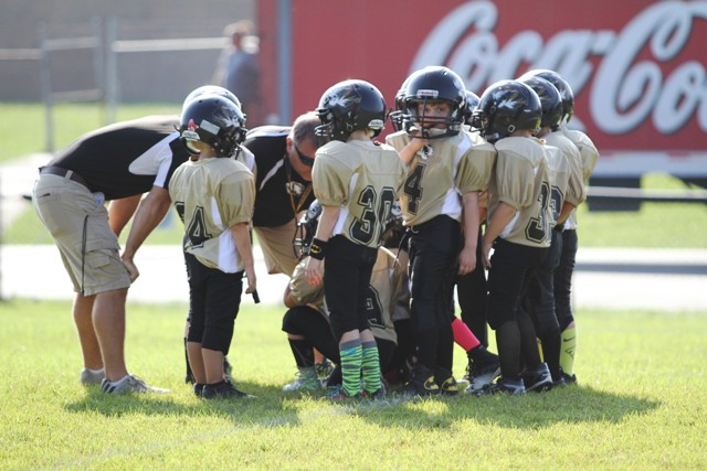 The Peewee B Team Offense