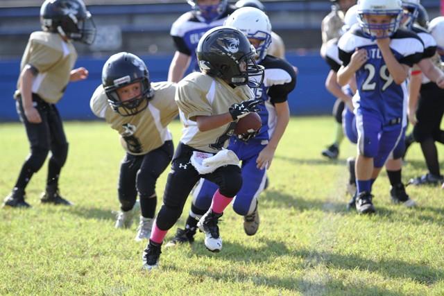 Axel Aranda ran for a touchdown Saturday