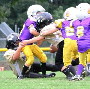 The DC Defense harassed Fentress County all day, forcing five turnovers in the contest.