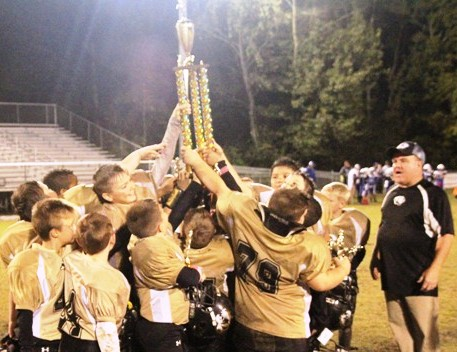 The DeKalb County Junior Tigers defeated Smith County 14-0 for the 2014 MTYFC Championship